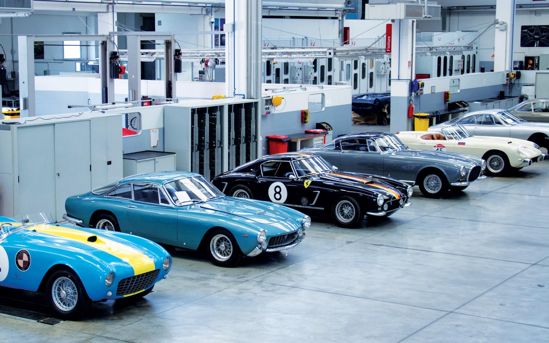 Classic Car Services | Carrozzeria Zanasi - Maranello